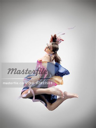Portrait of Dancer Stock Photo - Rights-Managed, Image code: 700-02833508