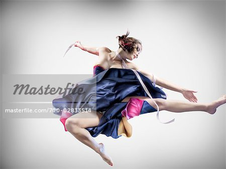 Portrait of Dancer Stock Photo - Rights-Managed, Image code: 700-02833514