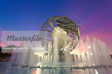 Unisphere, Flushing Meadows Park, Queens, New York, New York, USA Stock Photo - Rights-Managed, Image code: 700-02912867
