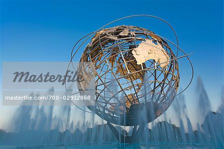 Unisphere, Flushing Meadows Park, Queens, New York, New York, USA Stock Photo - Rights-Managed, Image code: 700-02912868