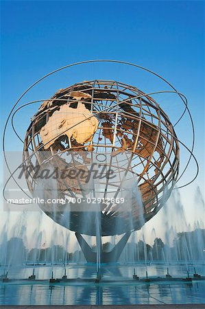 Unisphere, Flushing Meadows Park, Queens, New York, New York, USA Stock Photo - Rights-Managed, Image code: 700-02912869