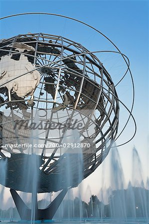 Unisphere, Flushing Meadows Park, Queens, New York, New York, USA Stock Photo - Rights-Managed, Image code: 700-02912870