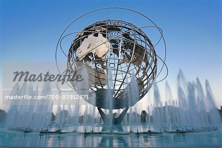 Unisphere, Flushing Meadows Park, Queens, New York, New York, USA Stock Photo - Rights-Managed, Image code: 700-02912871