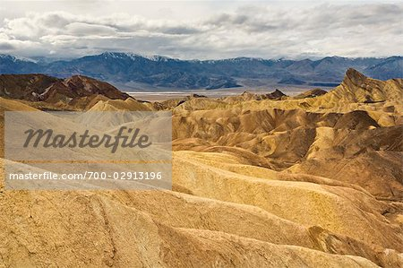 Zabriskie Point, Death Valley National Park, California, USA Stock Photo - Rights-Managed, Image code: 700-02913196