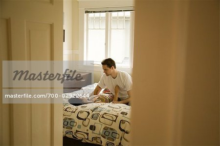 Couple in Bed Stock Photo - Rights-Managed, Image code: 700-02922644
