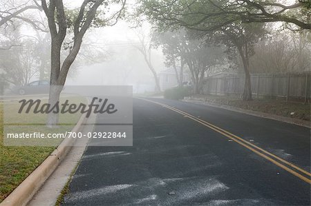 Morning Fog Over Neighbourhood Stock Photo - Rights-Managed, Image code: 700-02922844