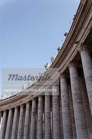 St Peter's Square, Vatican City, Rome, Italy Stock Photo - Rights-Managed, Image code: 700-02935400