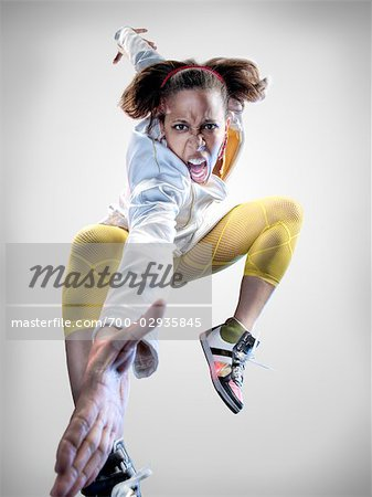 Portrait of Breakdancer Stock Photo - Rights-Managed, Image code: 700-02935845