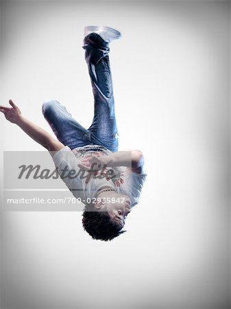 Portrait of Breakdancer Stock Photo - Rights-Managed, Image code: 700-02935847