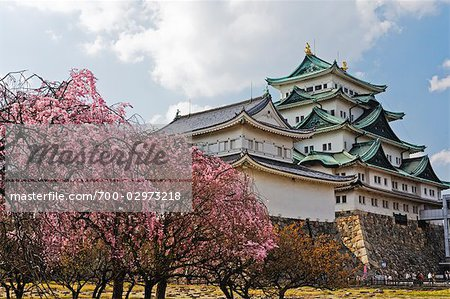 Nagoya Castle, Nagoya, Aichi Prefecture, Chubu, Japan Stock Photo - Rights-Managed, Image code: 700-02973218