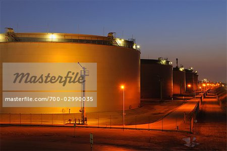 Oil Refinery in Schwechat, Vienna, Austria Stock Photo - Rights-Managed, Image code: 700-02990035