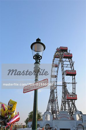 Ferris Wheel, Prater, Vienna, Austria Stock Photo - Rights-Managed, Image code: 700-02990040