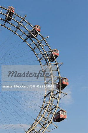 Ferris Wheel, Prater, Vienna, Austria Stock Photo - Rights-Managed, Image code: 700-02990041
