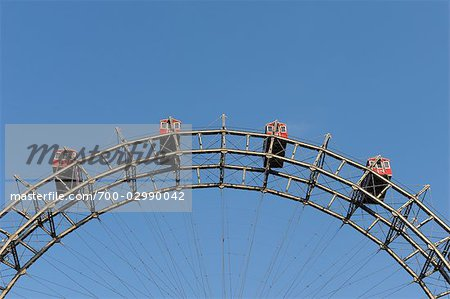 Ferris Wheel, Prater, Vienna, Austria Stock Photo - Rights-Managed, Image code: 700-02990042