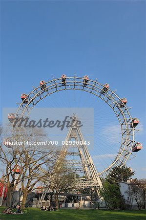 Ferris Wheel, Prater, Vienna, Austria Stock Photo - Rights-Managed, Image code: 700-02990043