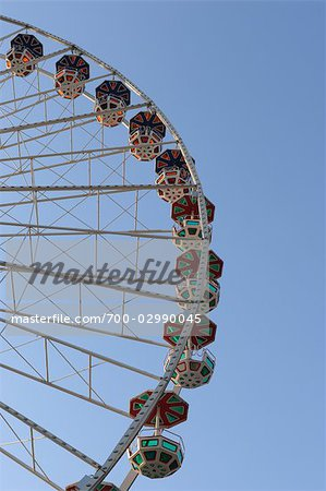 Ferris Wheel, Prater, Vienna, Austria Stock Photo - Rights-Managed, Image code: 700-02990045