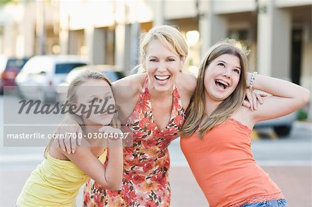 Portrait of Mother and Daughters Stock Photo - Rights-Managed, Image code: 700-03004037