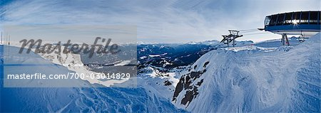 View From the Top of Whistler Peak, Whistler, British Columbia, Canada Stock Photo - Rights-Managed, Image code: 700-03014829