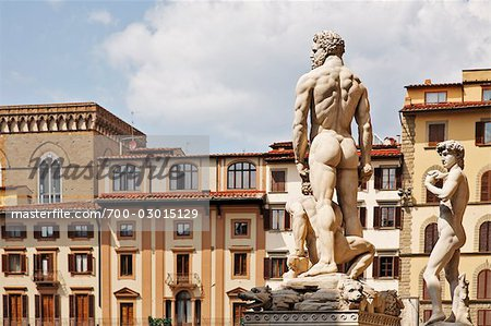 Piazza della Signoria, Florence, Tuscany, Italy Stock Photo - Rights-Managed, Image code: 700-03015129