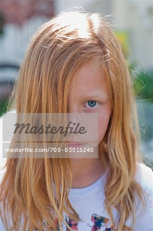 Portrait of Girl Stock Photo - Rights-Managed, Image code: 700-03015240
