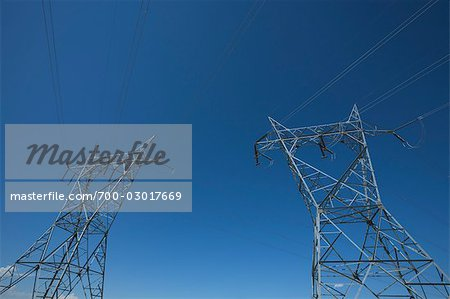 Hydro Towers Stock Photo - Rights-Managed, Image code: 700-03017669