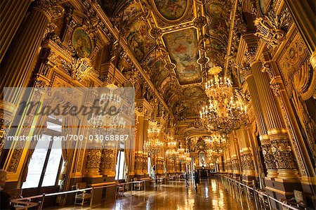 Garnier Opera, Paris, Ile de France, France Stock Photo - Rights-Managed, Image code: 700-03068887