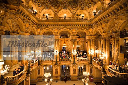 Garnier Opera, Paris, Ile de France, France Stock Photo - Rights-Managed, Image code: 700-03068891