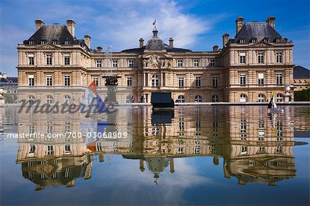 Luxembourg Gardens, Paris, Ile de France, France Stock Photo - Rights-Managed, Image code: 700-03068909