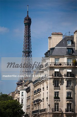 Eiffel Tower, Paris, Ile de France, France Stock Photo - Rights-Managed, Image code: 700-03068953
