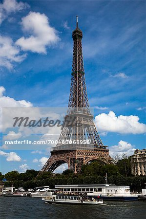 Eiffel Tower, Paris, Ile de France, France Stock Photo - Rights-Managed, Image code: 700-03068956