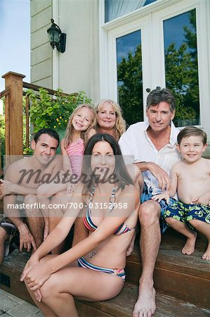 Portrait of Extended Family Stock Photo - Rights-Managed, Image code: 700-03152958