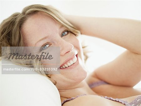 Close-up of Woman Stock Photo - Rights-Managed, Image code: 700-03210392