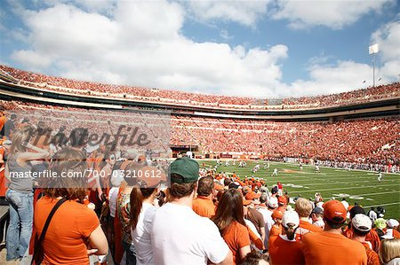 Texas Longhorns Football Game, Austin, Texas, USA