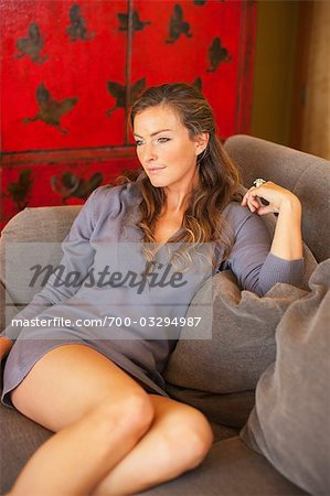 Portrait of Woman Stock Photo - Rights-Managed, Image code: 700-03294987