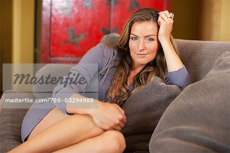Portrait of Woman Stock Photo - Rights-Managed, Image code: 700-03294988