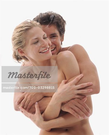 Nude Couple Embracing Stock Photo - Rights-Managed, Image code: 700-03298815