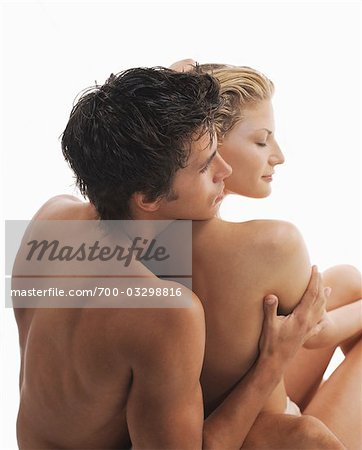 Backview of Nude Couple Stock Photo - Rights-Managed, Image code: 700-03298816