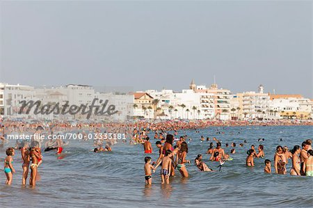 Beach at Rota, Cadiz, Andalucia, Spain Stock Photo - Rights-Managed, Image code: 700-03333181
