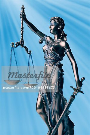 Scales of Justice Stock Photo - Rights-Managed, Image code: 700-03355670