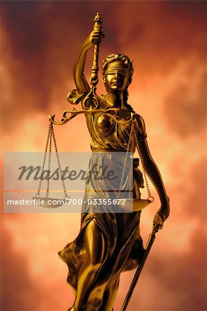 Scales of Justice Stock Photo - Rights-Managed, Image code: 700-03355672