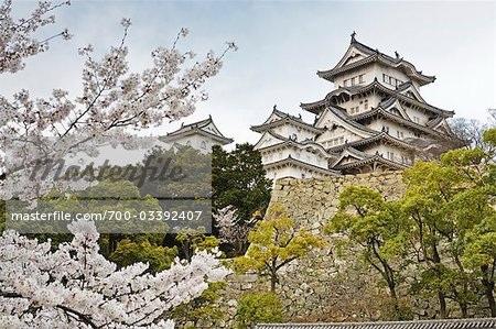 Himeji Castle, Himeji City, Hyogo, Kansai Region, Honshu, Japan Stock Photo - Rights-Managed, Image code: 700-03392407