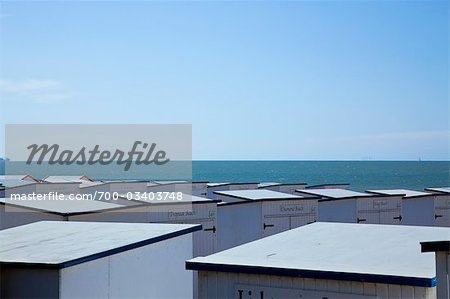 Beach Huts in Knokke, Knokke-Heist, West Flanders, Flanders, Belgium Stock Photo - Rights-Managed, Image code: 700-03403748