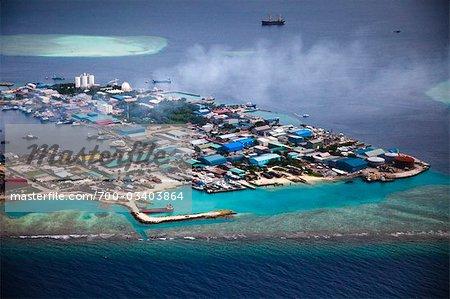 Thilafushi island : Maldives |