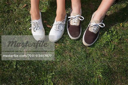 Teenage Couple's Feet Stock Photo - Rights-Managed, Image code: 700-03407877