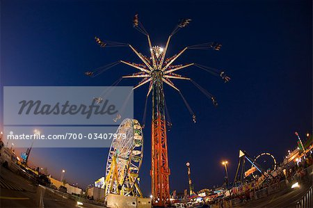 CNE at Night, Toronto, Ontario, Canada Stock Photo - Rights-Managed, Image code: 700-03407979