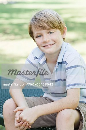 Portrait of Boy Stock Photo - Rights-Managed, Image code: 700-03408042