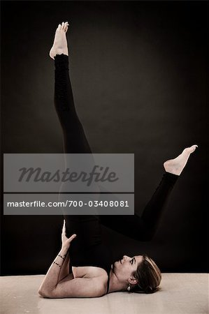 Woman Doing Yoga Stock Photo - Rights-Managed, Image code: 700-03408081
