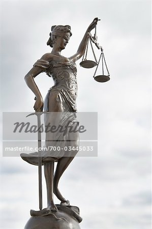 Scales of Justice Stock Photo - Rights-Managed, Image code: 700-03445033