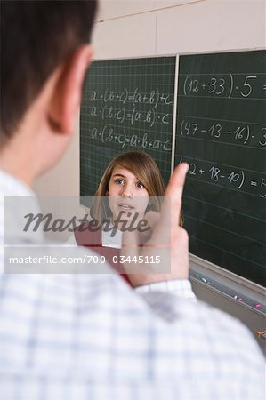 Student Arguing With Teacher Stock Photo - Rights-Managed, Image code: 700-03445115