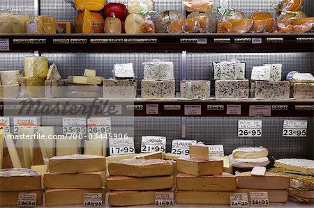 Cheese Shop, Paris, Ile-de-France, France Stock Photo - Rights-Managed, Image code: 700-03445906